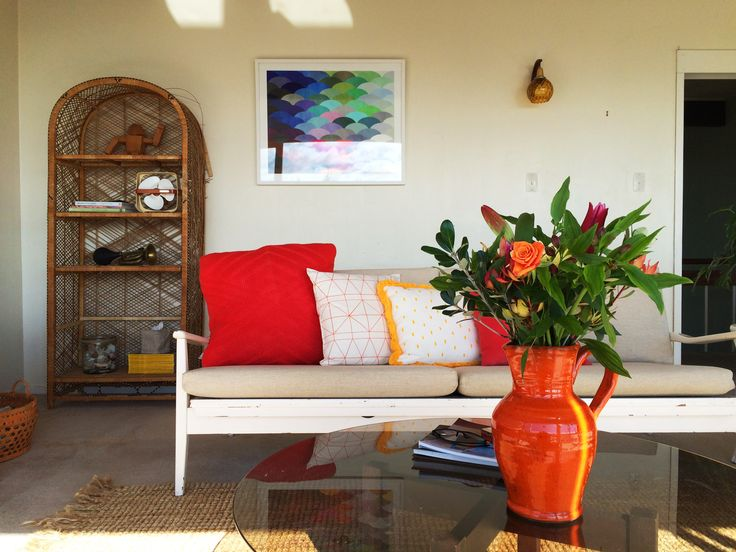 #homestaging by #placesandgraces #flowers #orange #art