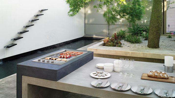 Alfresco, BBQ, barbeque, Electrolux, outdoor living, kitchen, food, eating, trends
