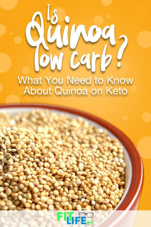 is quinoa okay for a ketogenic diet?
