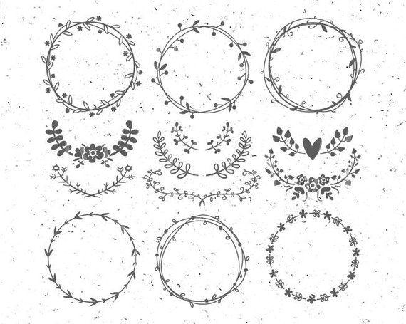 Wreath Frame SVG Cutting File