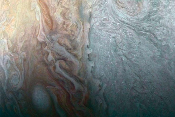 Les énigmatiques nuages de Jupiter. - NASA/JPL-Caltech/SwRI/MSSS/ Roman Tkachenko