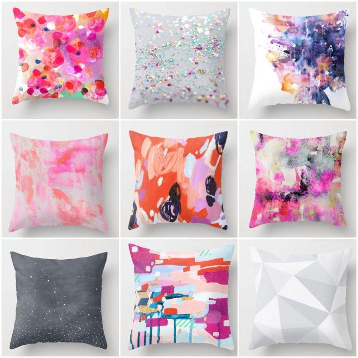 Society 6 cushions from $20