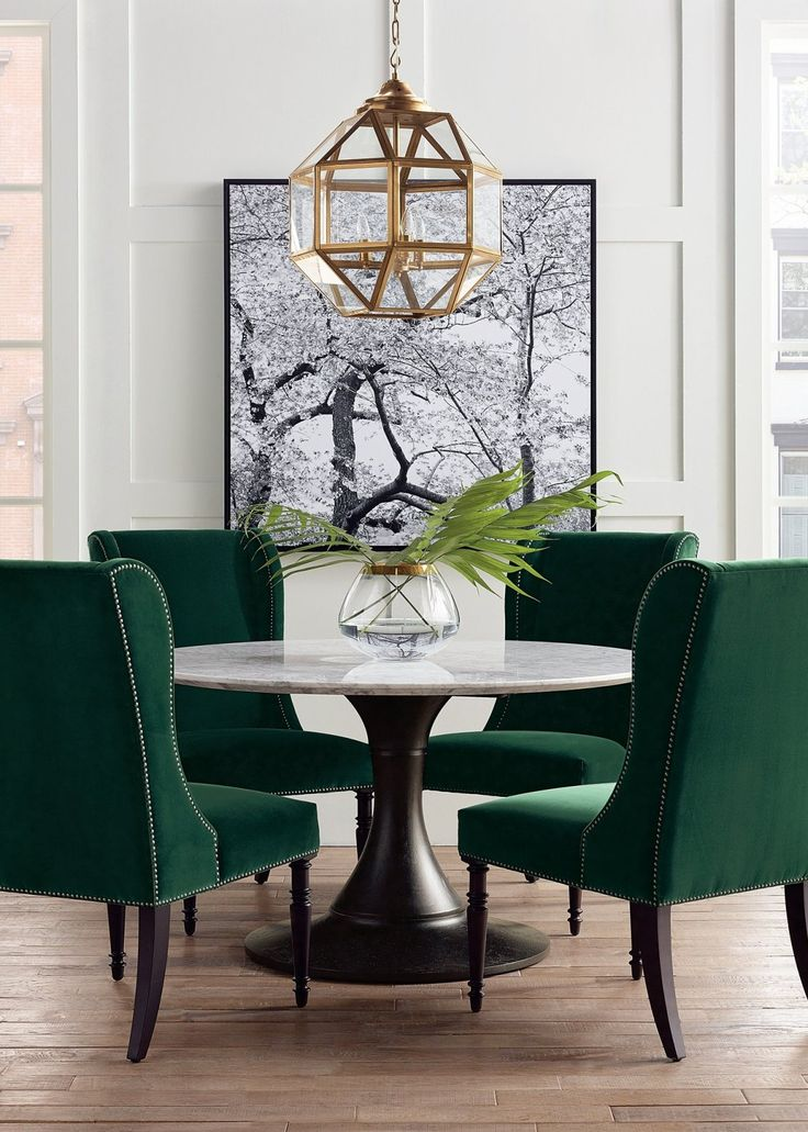 Mercer Round Dining Table Frontgate Round dining room