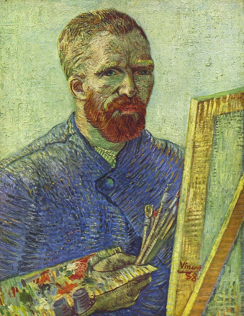 at fills an    Soul the chicago Vincent via   Gogh  by as       Flickr artist van petrus agricola  Easels   Vincent   Gogh        coach Self portrait easel  outlet   Van Art