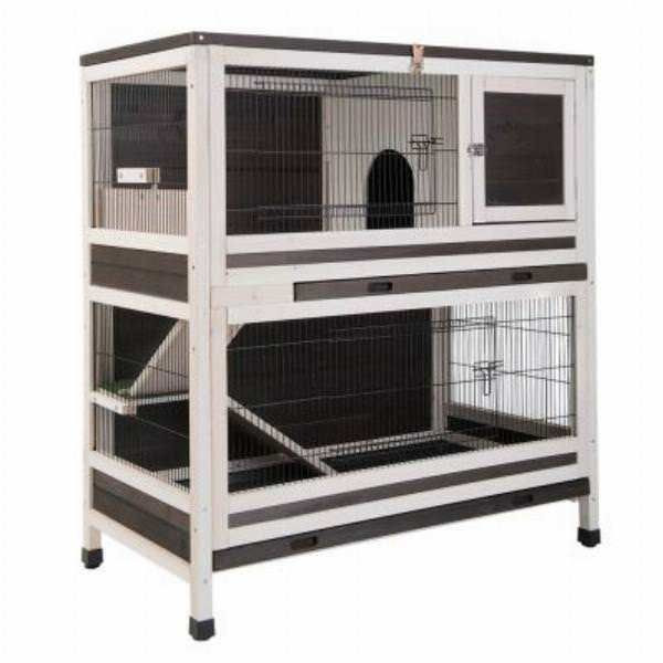 Pin On Double Tier Rabbit Hutch Guinea Pig 2 Storey