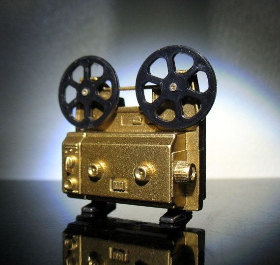 Vintage New old stock Film Movie projector by TinyPlanetVintage