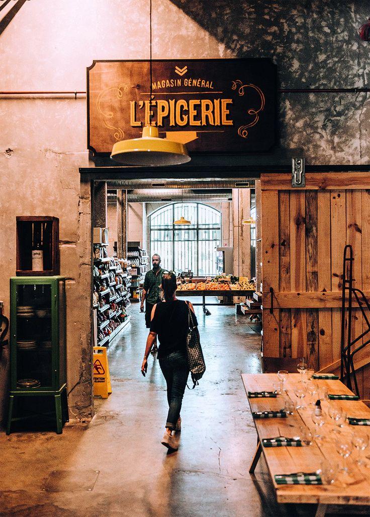 Entrée du concept store Darwin de Bordeaux