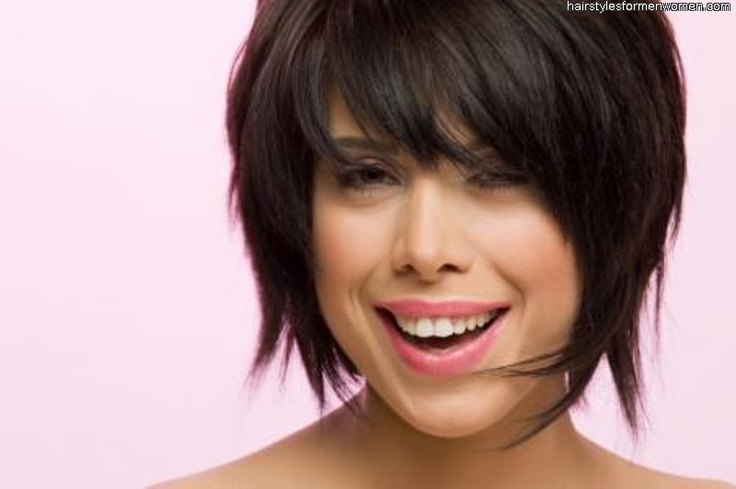 Short Hair For Round Faces Asian : Short hairstyles for round faces asian my style