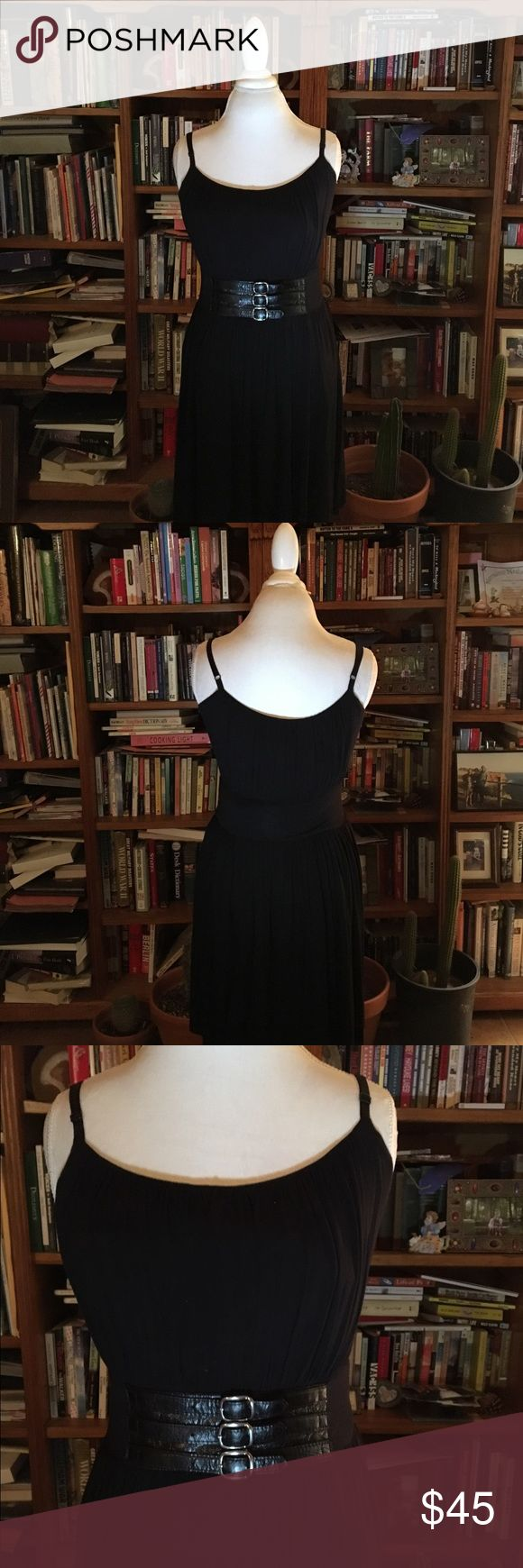 BAILEY 44 Corset Belt Dress Excellent Condition Bailey 44 Corset Belt Dress   Comfortable Jersey Knit fabric. Approx measurements: bust: 36 waist: 30 inches.) Allows for some stretch if needed. Bailey 44 Dresses