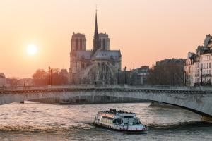 Paris, Notre Dame cathedral at Sunset - Sylvain Sonnet/Photodisc/Getty Images