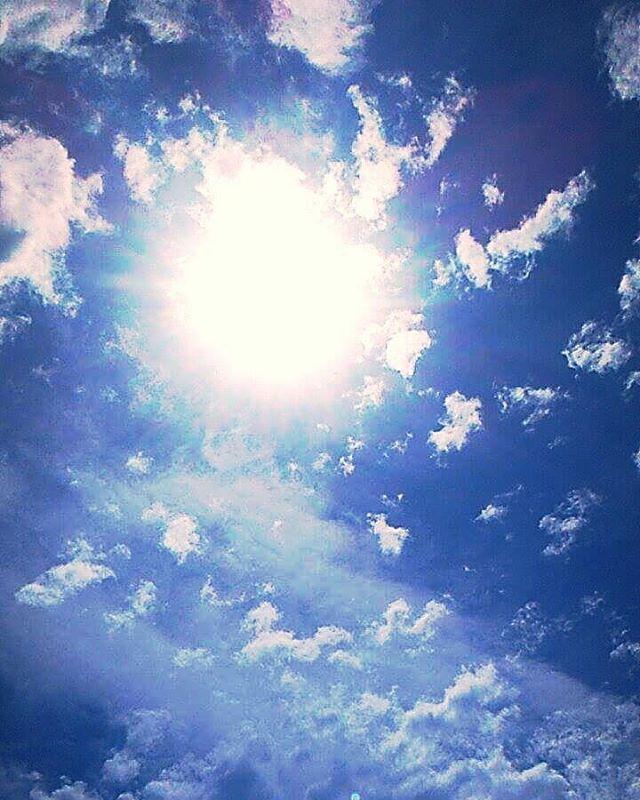 Just a photo  #sajat #sun #clouds