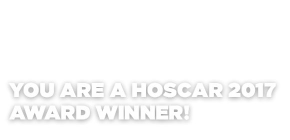 We are proud to announce the 2017 HOSCAR awards!