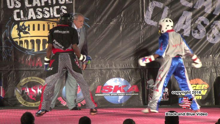 Kevin Walker vs Willie Hicks 2016 U S Capitol Classics Karate Tournament