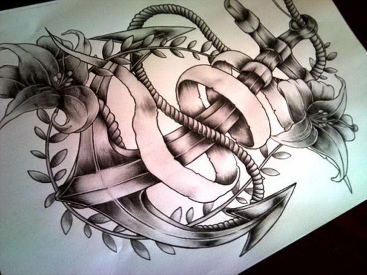 Anchor tattoo designs popular » anchor-tattoo-designs-tumblr-popular ...