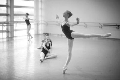Once a ballerina.