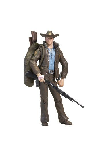 McFarlane Toys The Walking Dead Comic Series 1 - Officer Rick Grimes