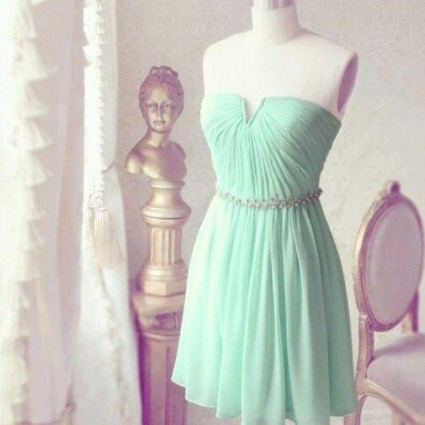 Chiffon A Line Short Homecoming Dress,Short Prom Dress,Short Graduation Dress