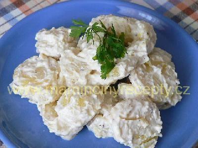 4 Bramborový salát s česnekem