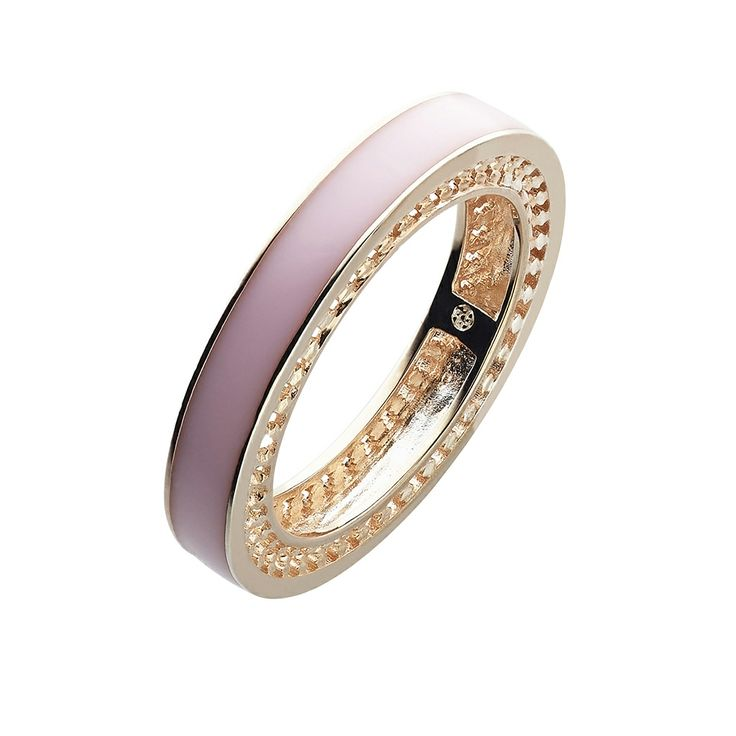 Oxettissimo Pink Ring - Available here http://www.oxette.gr/kosmimata/daktulidia/stainless-steel-rosegold-plated-ring-pink-oxette676l-1/     #oxette #OXETTEring #jewellery