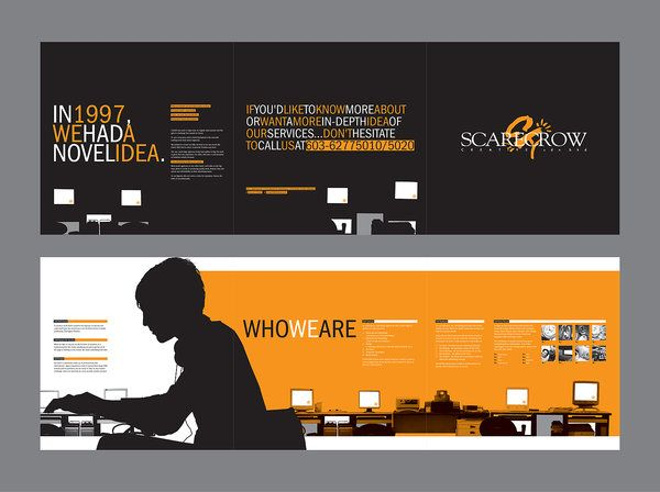 3-fold brochure, another cool design