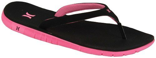 Hurley Phantom Women's Sandal - Techno Pink - 6 *** Click image to review more details.