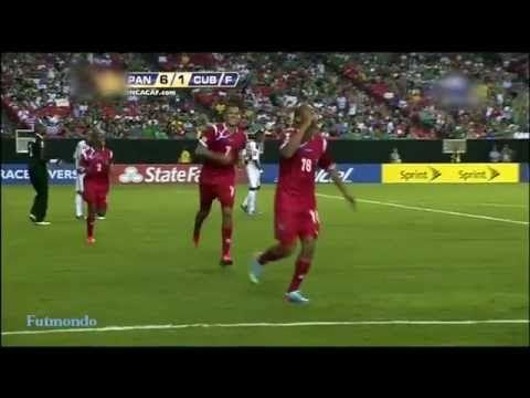 Panama vs Cuba 2013 (6-1) Copa Oro Todos Goles HQ