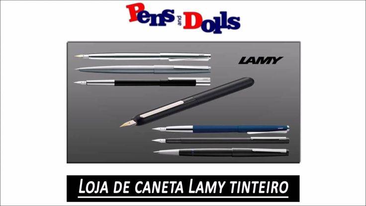 Loja de caneta Lamy tinteiro - Pens and Dolls