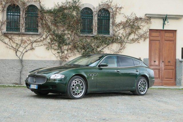 For Sale: Unique 2009 Maserati Quattroporte Shooting Brake