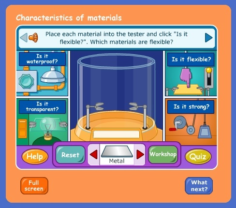 I have forgotten about this gem, BBC. Properties of matter