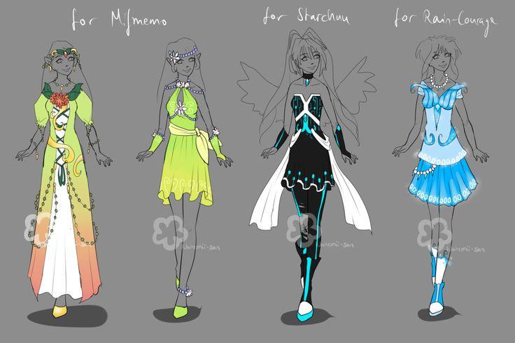 Custom Outfits #7 by Nahemii-san.deviantart.com on @deviantART
