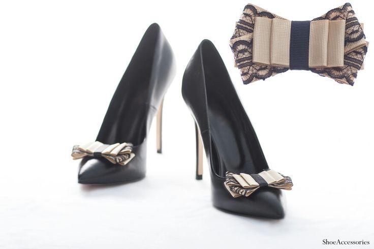 Украшения для обуви.  #ShoeAccessories #shoeclips #handmade #bows