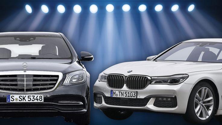 Vergleichstest Mercedes S 400 d 4Matic gegen BMW 740d xDrive - Zweikampf der Diesel-Dickschiffe *** BILDplus Inhalt *** - Auto-News - Bild.de