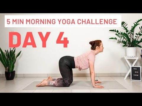 day 4  5 minute morning yoga challenge modified sun