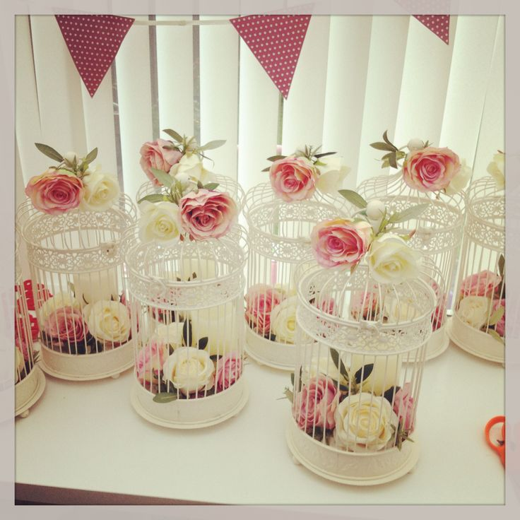 432 Best Birdcages With Flowers Images On Pinterest