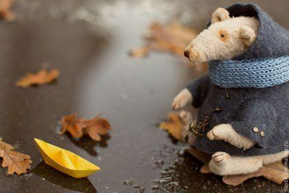 Мишки Тедди ручной работы. бумажные кораблики. Настёна Никитина. Ярмарка Мастеров. Крыс, масляные краски