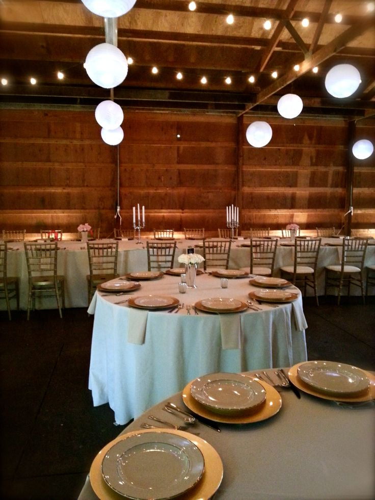 Such an elegant event in the Hines Hill barn this weekend!