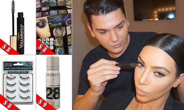 Mario Dedivanovic, who is Kim Kardashian's longtime make-up artist and friend has revealed his top drugstore picks on his Snapchat, including mascara, eye shadow and make-up sponges.