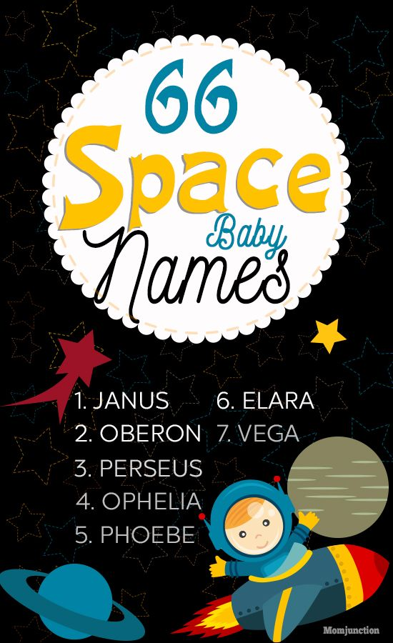 61 Cute And Adorable Space Baby Names For Boys And Girls | Baby