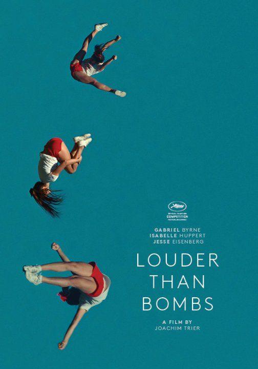Joachim Trier's Louder Than Bombs (2015) starring Isabelle Huppert, Gabriel Byrne, Jesse Eisenberg