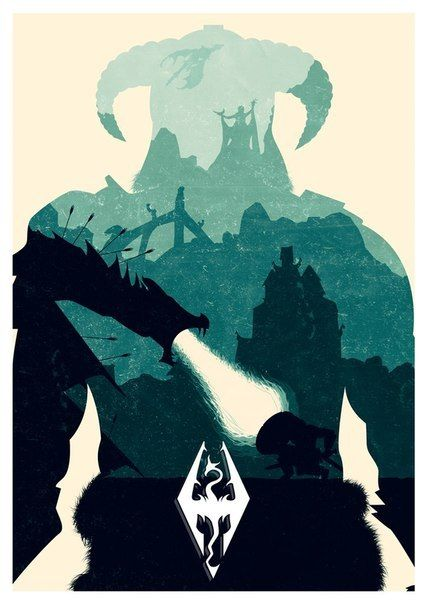 Dragonborn Art Print by Lee Shackleton