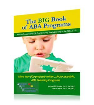 Big Book Of ABA Programs, Quality ABA Training Programs Matierals For Autism, Stimulus Publications