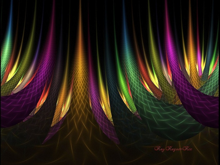 Pin By Carolyn Pranke On Fractals And Other Forms Of: Rainbow Forest By *Rozrr