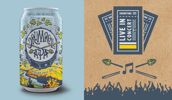 Take a Drumroll, @OdellBrewing's hop-forward American pale ale, with you this summer & enter to win $100 in free concert tickets!