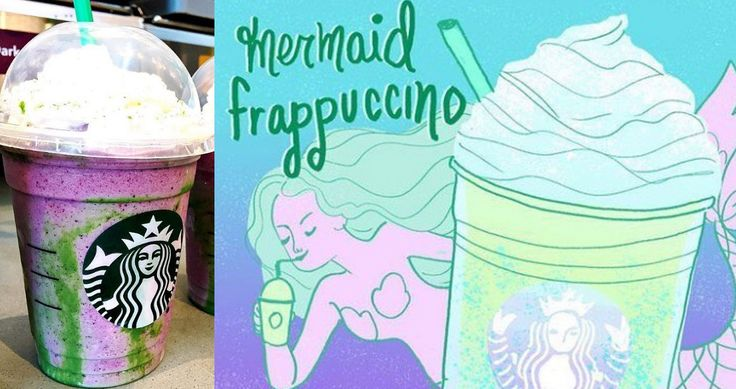 Continuing with the trend of mythical characters, we have the Mermaid Frappuccino breaking out onto the social media scene.