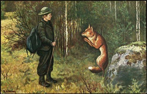 Askeladdens adventure  - Theodor Severin Kittelsen (Askeladdens Eventyr)