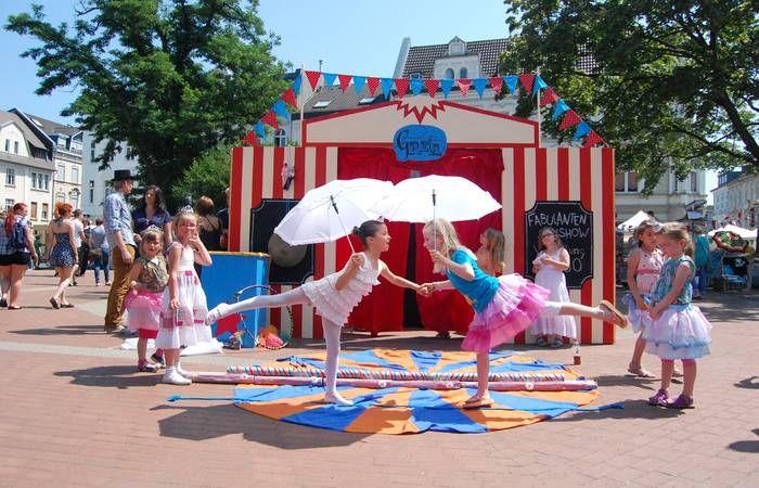 Zirkus Kindergeburtstag: my-kinderparty