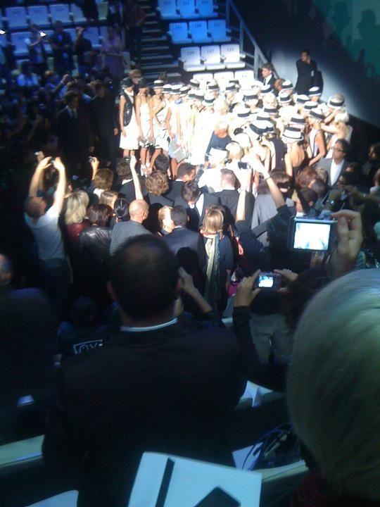 Giorgio Armani Fashion Show in Milan....Amazzzzzing!!!