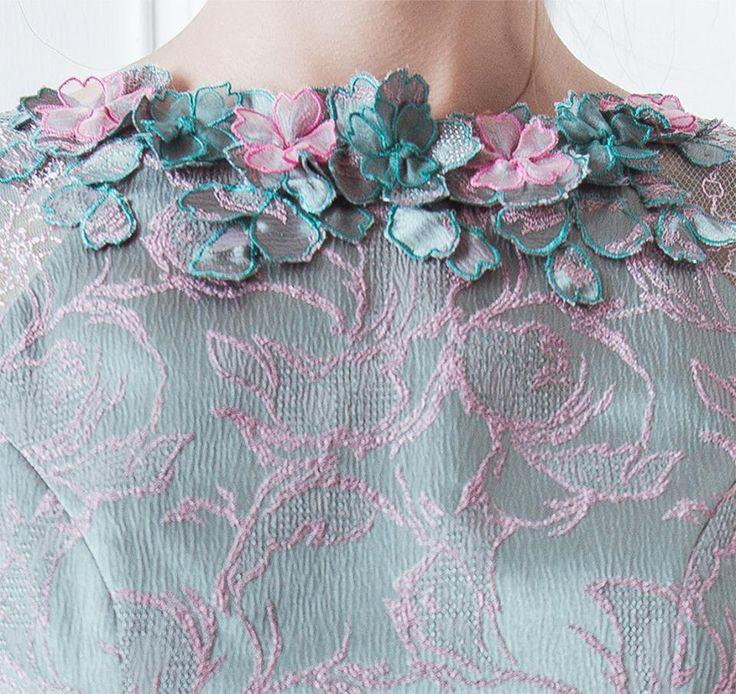 Beautiful details of Lovato Dress