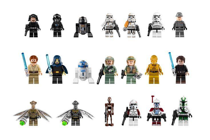 Lego minifigures star wars google search ninjago personnage star wars star wars et lego - Personnage star wars 6 ...