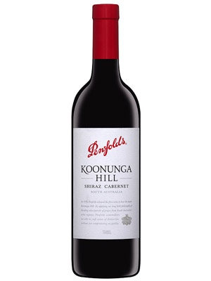 When you buy Penfolds RED Koonunga Hill Shiraz Cabernet or the Thomas Hyland Shiraz, 15 percent of profits go to the RED Campaign for the Global Fund to stop AIDS in Africa. $15